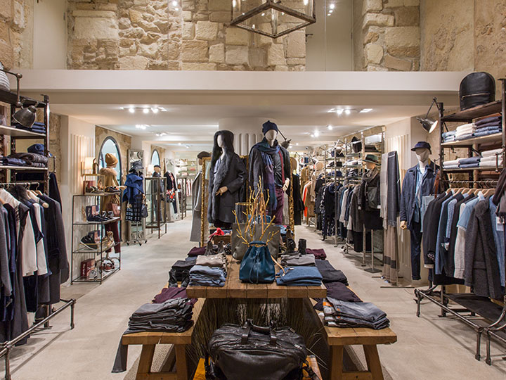 Your lifestyle store in palma rialto living - Men s clothing store interior design ideas ...